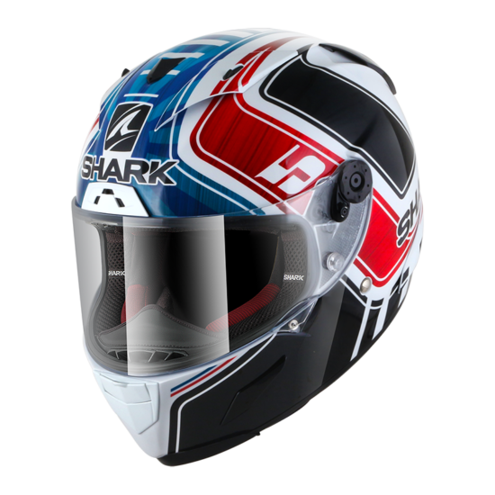 Shark Race-R Pro Replica Zarco GP De France - 8633-WBR