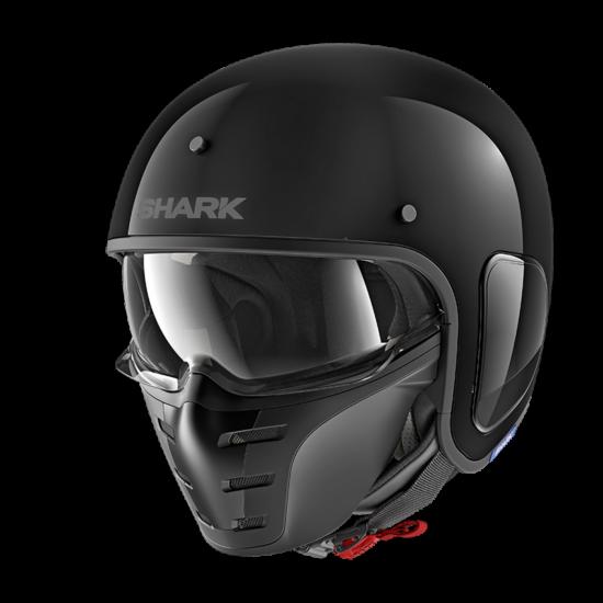 Shark S-Drak - Blank - 2750-BLK