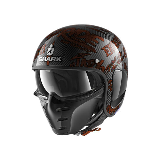 Shark S-Drak Carbon - Freestyle Cup - 2708-DRR