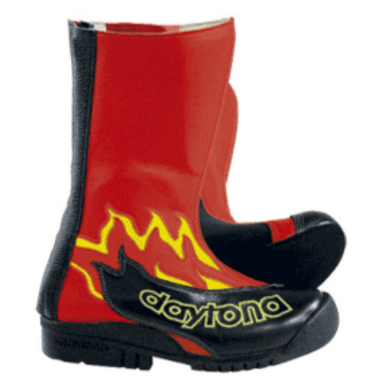 Daytona csizmák - Versenycsizmák - Speed Youngsters - piros - fekete