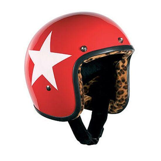 Bandit sisakok - Nyitott sisakok - RedStar Jet - RedStar leopárd mintás béléssel