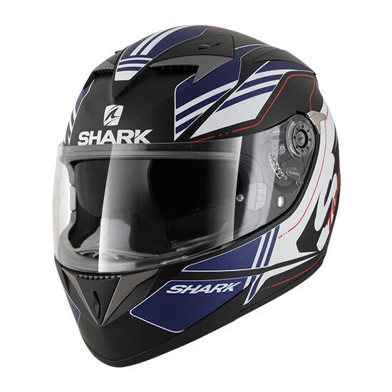 Shark bukósisak - S700 S - Tika mat - KBW