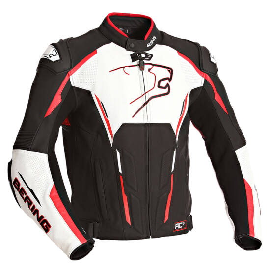 Bering motoros ruházat - Bőrdzseki - Storm-R - BCB101