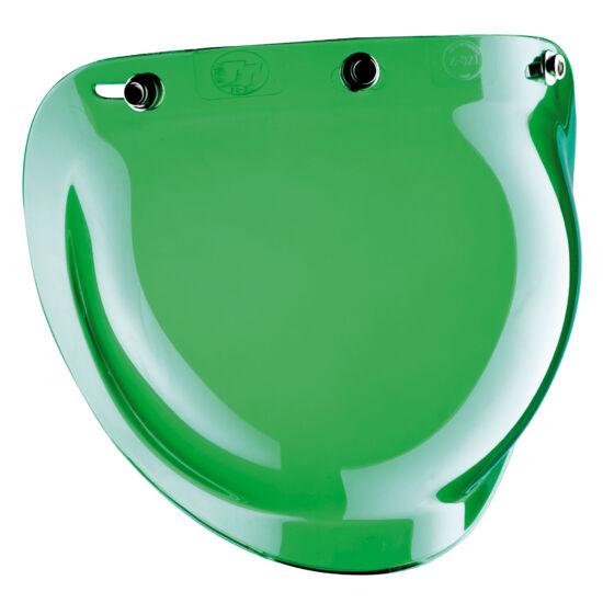 Bandit sisakok - Plexik és kiegészítők - Buborék plexi - Zöld