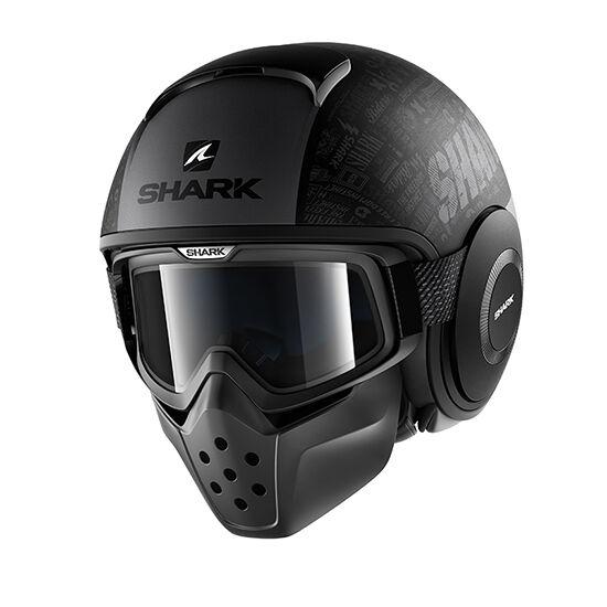 Shark bukósisak - Drak - Tribute RM mat - 2906-KAA