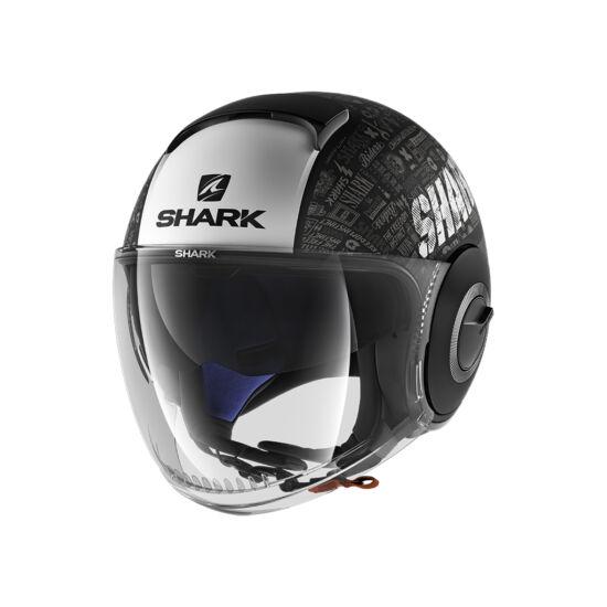 Shark bukósisak - Nano - Tribute RM mat - 2801-KWA
