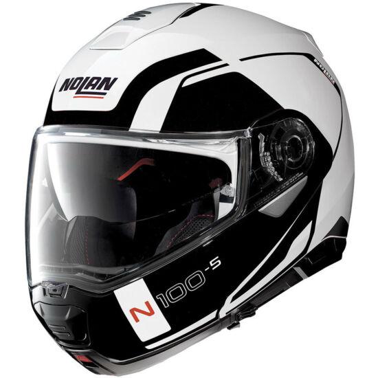 Nolan N100-5 Consistency - metal white