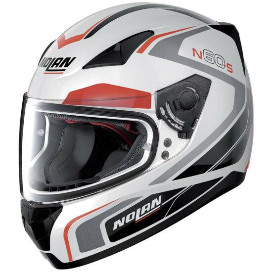 Nolan N60-5 Practice - metal white