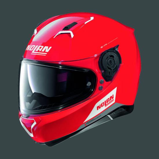 Nolan N87 EMBLEMA - piros
