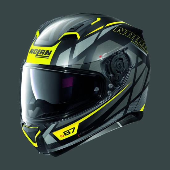 Nolan N87 ORIGINALITY - fekete-sárga