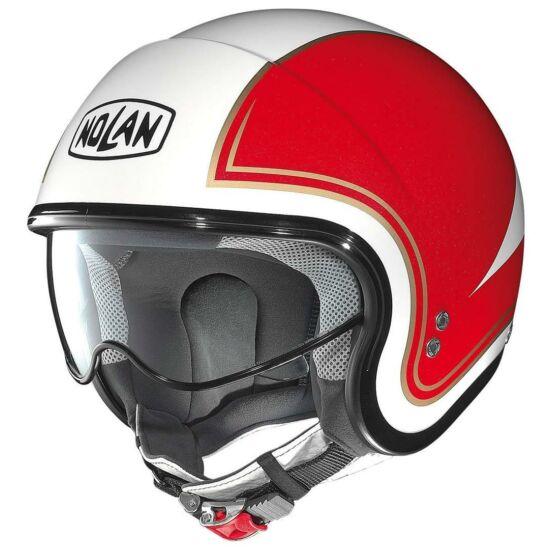 Nolan N21 Tricolore - metal white