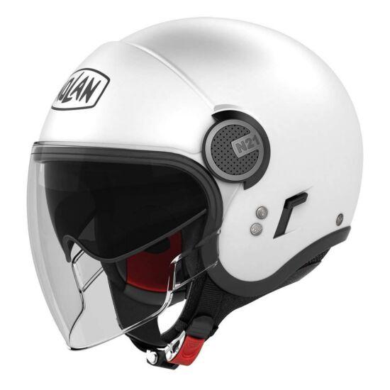 Nolan N21 Visor Classic - metal white