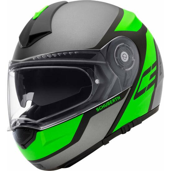 Schuberth C3 Pro Echo - zöld
