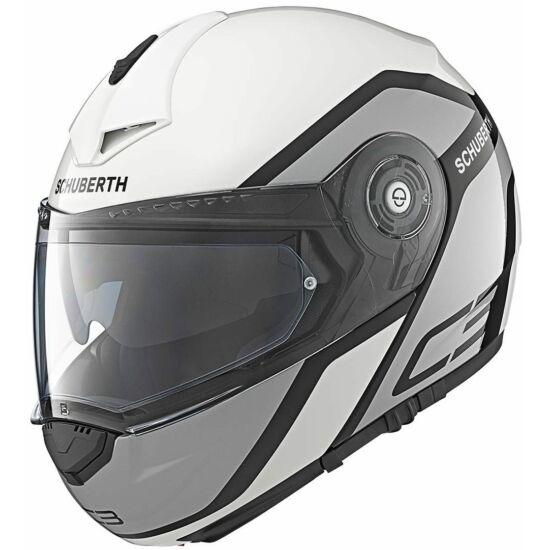 Schuberth C3 Pro Observer - fehér