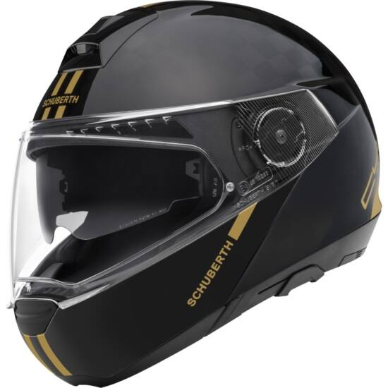 Schuberth C4 PRO CARBON FLIP Fusion Gold Special Edition