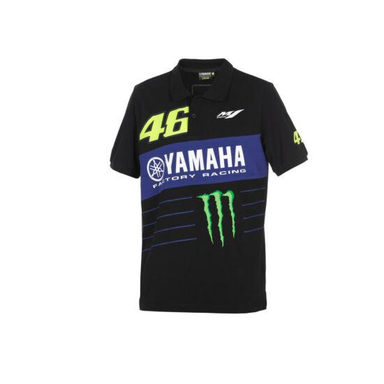 Yamaha VR46 férfi erős ingpóló