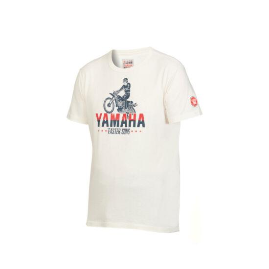 Yamaha Faster Sons Abbot női fehér póló