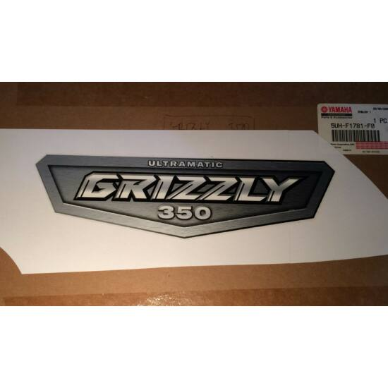 GRIZZLY350 JOBB OLDALI MATRICA