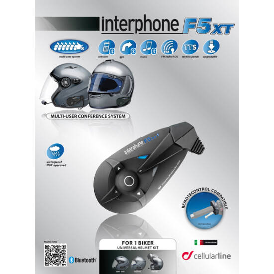 Interphone F5XT